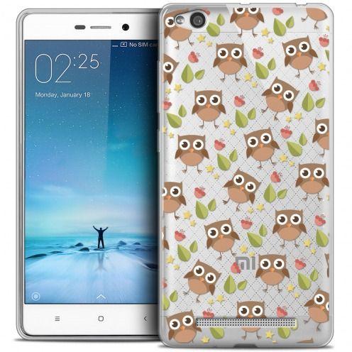 Carcasa Crystal Gel Extra Fina Xiaomi Redmi 3 Summer Hibou
