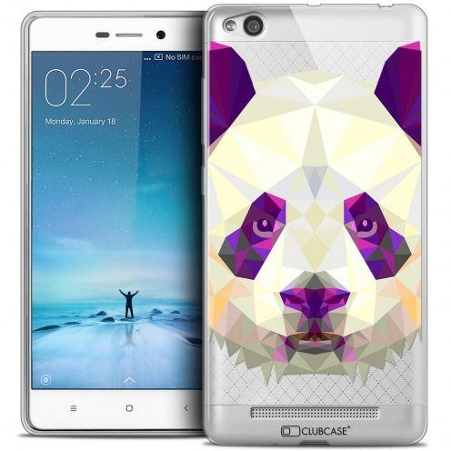 Carcasa Crystal Gel Extra Fina Xiaomi Redmi 3 Polygon Animals Panda