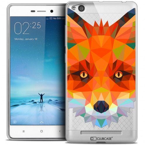 Carcasa Crystal Gel Extra Fina Xiaomi Redmi 3 Polygon Animals Zorro