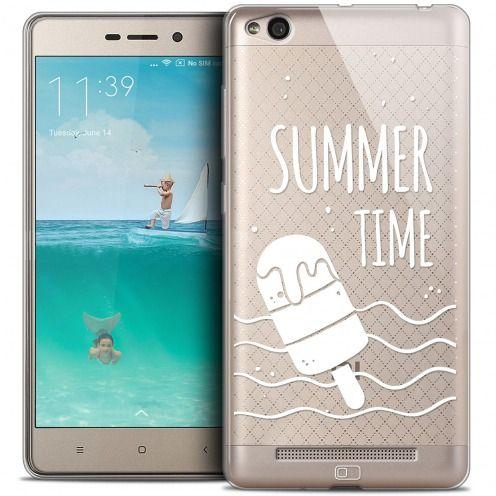 Carcasa Crystal Gel Extra Fina Xiaomi Redmi 3 Summer Summer Time