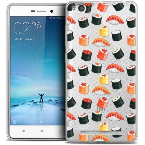 Carcasa Crystal Gel Extra Fina Xiaomi Redmi 3 Foodie Sushi