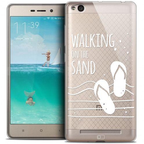 Carcasa Crystal Gel Extra Fina Xiaomi Redmi 3 Summer Walking on the Sand