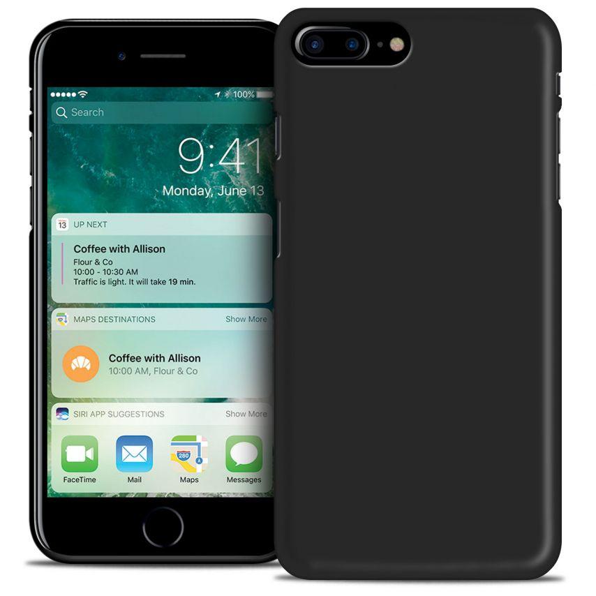 "Carcasa iPhone 7 Plus 5.5"" Frozen Ice Extra Fina Negro opaco"