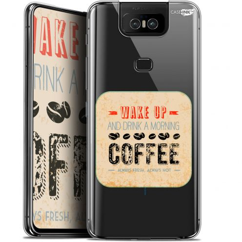 """Carcasa Gel Extra Fina Asus Zenfone 6 ZS630KL (6.4"""") Design Wake Up With Coffee"""