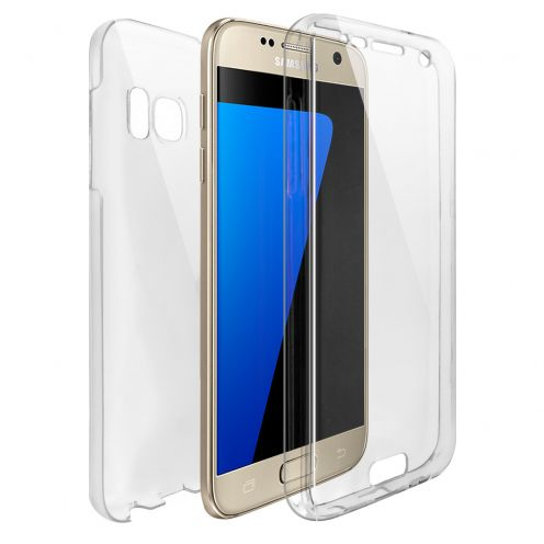 Carcasa Samsung Galaxy S7 (G930) TPU Gel Defense 360º Transparente