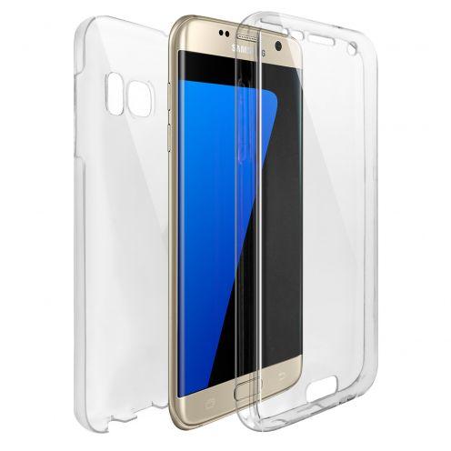 Carcasa Samsung Galaxy S7 Edge (G935) TPU Gel Defense 360º Transparente
