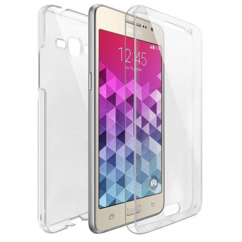 Carcasa Samsung Galaxy Grand Prime (G530) TPU Gel Defense 360º Transparente