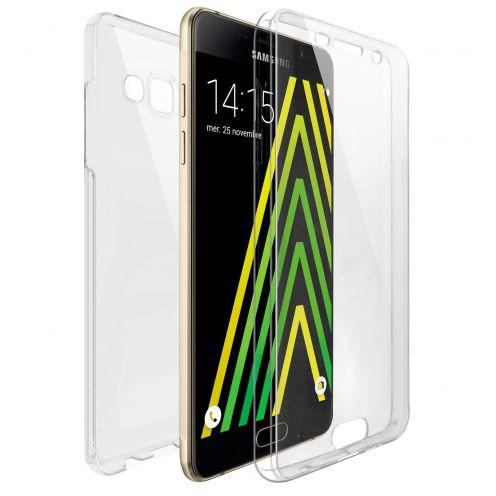 Carcasa Samsung Galaxy A5 2016 (A510) TPU Gel Defense 360º Transparente