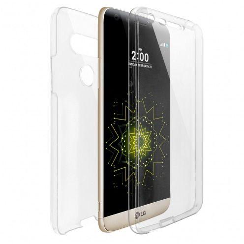 Carcasa LG G5 TPU Gel Defense 360º Transparente