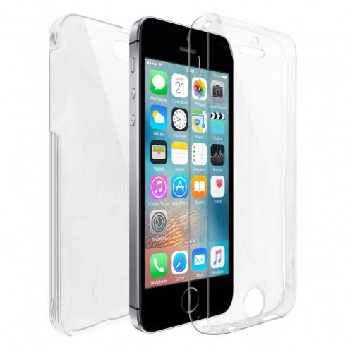 Carcasa Apple iPhone SE/5/5s TPU Gel Defense 360º Transparente