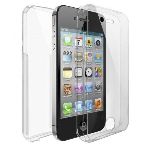 Carcasa Apple iPhone 4/4s TPU Gel Defense 360º Transparente