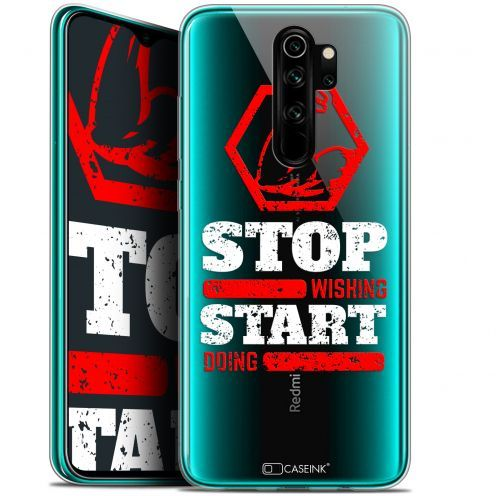 "Carcasa Gel Extra Fina Xiaomi Redmi Note 8 PRO (6.5"") Quote Start Doing"