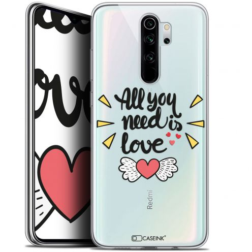 "Carcasa Gel Extra Fina Xiaomi Redmi Note 8 PRO (6.5"") Love All U Need Is"