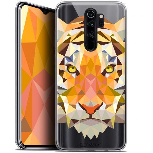 "Carcasa Gel Extra Fina Xiaomi Redmi Note 8 PRO (6.5"") Polygon Animals Tigre"