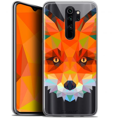 "Carcasa Gel Extra Fina Xiaomi Redmi Note 8 PRO (6.5"") Polygon Animals Zorro"