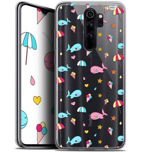 "Carcasa Gel Extra Fina Xiaomi Redmi Note 8 PRO (6.5"") Design Baleine à la Plage"