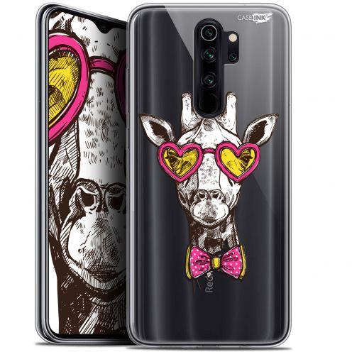 "Carcasa Gel Extra Fina Xiaomi Redmi Note 8 PRO (6.5"") Design Hipster Giraffe"