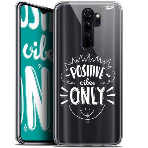 "Carcasa Gel Extra Fina Xiaomi Redmi Note 8 PRO (6.5"") Design Positive Vibes Only"