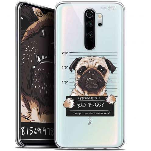 "Carcasa Gel Extra Fina Xiaomi Redmi Note 8 PRO (6.5"") Design Beware The Puggy Dog"