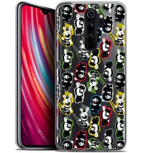 "Carcasa Gel Xiaomi Redmi Note 8 PRO (6.5"") Lapins Crétins™ Punk Pattern"
