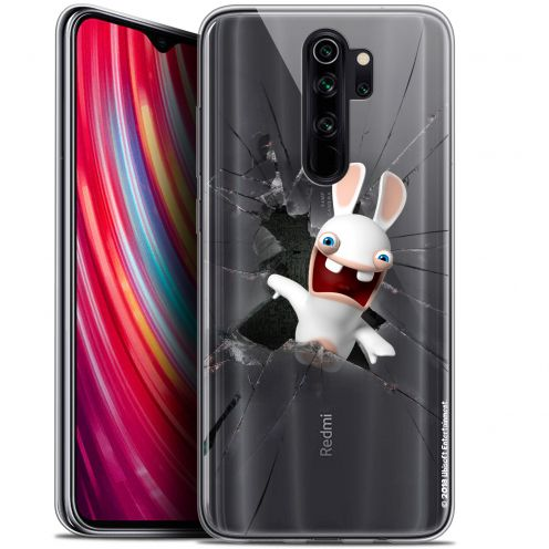 "Carcasa Gel Xiaomi Redmi Note 8 PRO (6.5"") Lapins Crétins™ Breaking Glass"