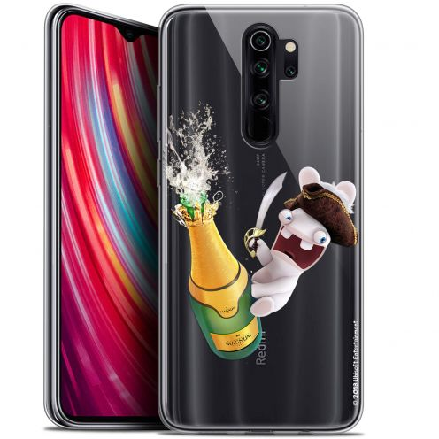 "Carcasa Gel Xiaomi Redmi Note 8 PRO (6.5"") Lapins Crétins™ Champagne !"
