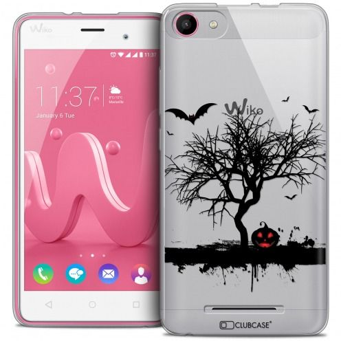 Carcasa Crystal Gel Extra Fina Wiko Jerry Halloween Devil's Tree