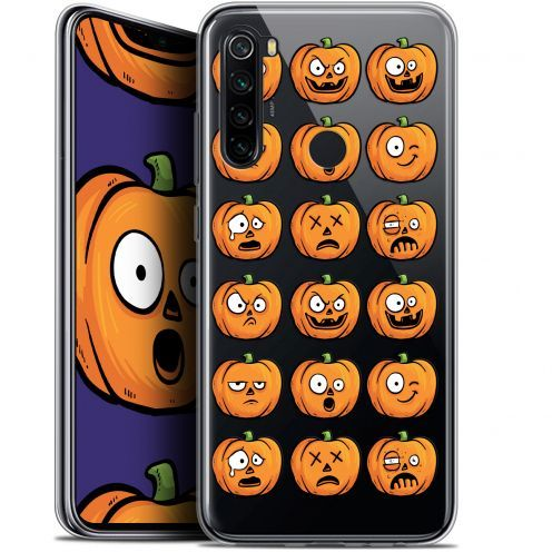 "Carcasa Gel Extra Fina Xiaomi Redmi Note 8 (6.3"") Halloween Cartoon Citrouille"