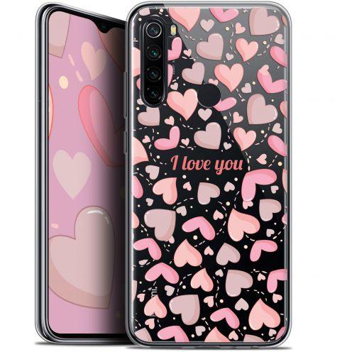 """Carcasa Gel Extra Fina Xiaomi Redmi Note 8 (6.3"""") Love I Love You"""