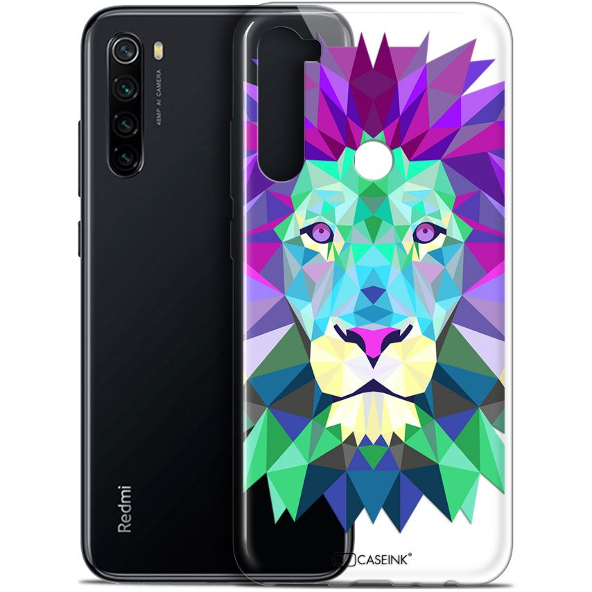 "Carcasa Gel Extra Fina Xiaomi Redmi Note 8 (6.3"") Polygon Animals León"