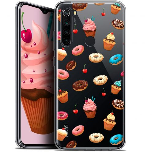 "Carcasa Gel Extra Fina Xiaomi Redmi Note 8 (6.3"") Foodie Donuts"
