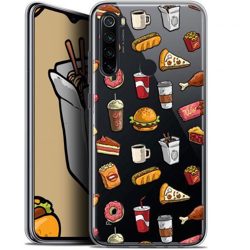 "Carcasa Gel Extra Fina Xiaomi Redmi Note 8 (6.3"") Foodie Fast Food"