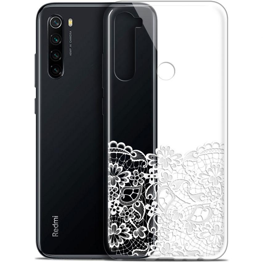 """Carcasa Gel Extra Fina Xiaomi Redmi Note 8 (6.3"""") Spring Bas dentelle"""