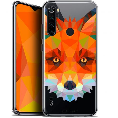 "Carcasa Gel Extra Fina Xiaomi Redmi Note 8 (6.3"") Polygon Animals Zorro"