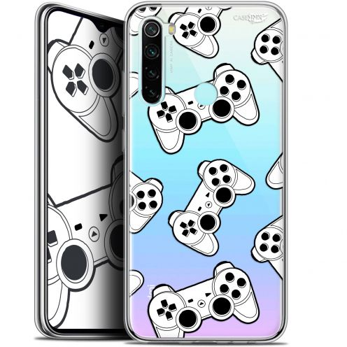 "Carcasa Gel Extra Fina Xiaomi Redmi Note 8 (6.3"") Design Game Play Joysticks"