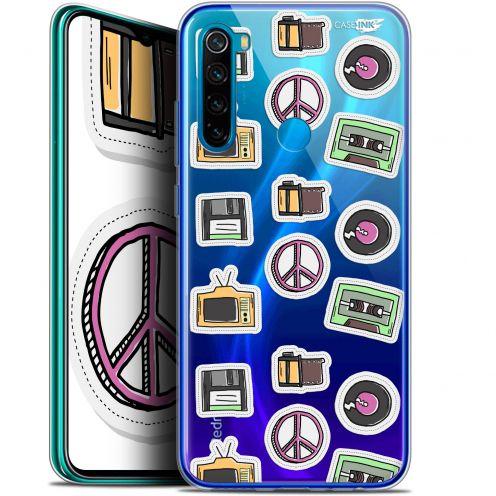 "Carcasa Gel Extra Fina Xiaomi Redmi Note 8 (6.3"") Design Vintage Stickers"