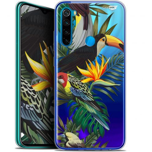 "Carcasa Gel Extra Fina Xiaomi Redmi Note 8 (6.3"") Design Toucan Tropical"
