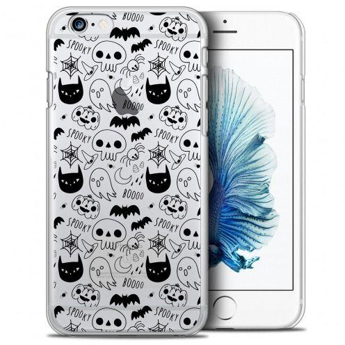 Carcasa Crystal Extra Fina iPhone 6/6s (4.7) Halloween Spooky