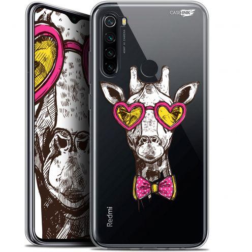 "Carcasa Gel Extra Fina Xiaomi Redmi Note 8 (6.3"") Design Hipster Giraffe"