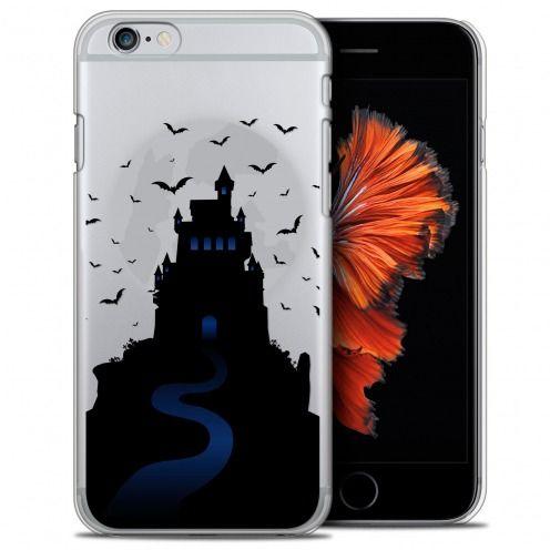 Carcasa Crystal Extra Fina iPhone 6/6s (4.7) Halloween Castle Nightmare