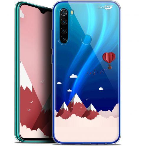 "Carcasa Gel Extra Fina Xiaomi Redmi Note 8 (6.3"") Design Montagne En Montgolfière"
