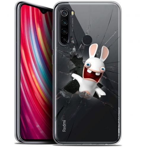 "Carcasa Gel Xiaomi Redmi Note 8 (6.3"") Lapins Crétins™ Breaking Glass"