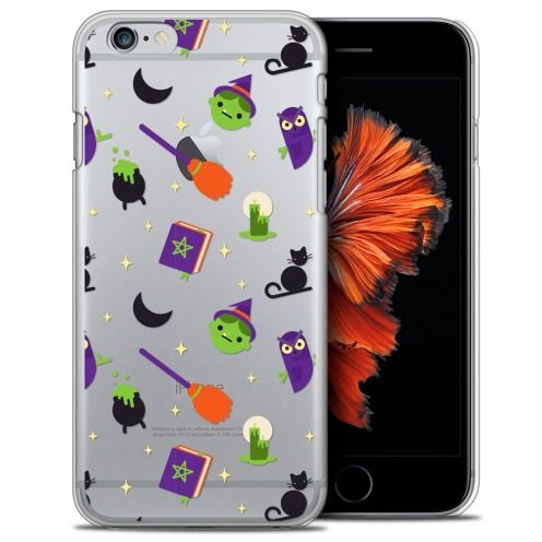 Carcasa Crystal Extra Fina iPhone 6/6s (4.7) Halloween Witch Potter