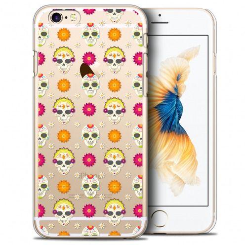 Carcasa Crystal Extra Fina iPhone 6/6s (4.7) Halloween Skull Halloween