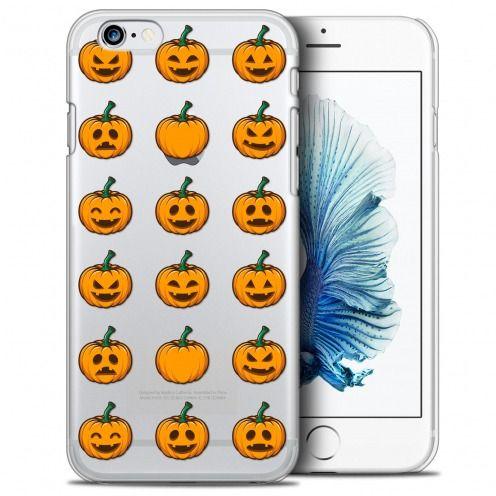 Carcasa Crystal Extra Fina iPhone 6/6s (4.7) Halloween Smiley Citrouille