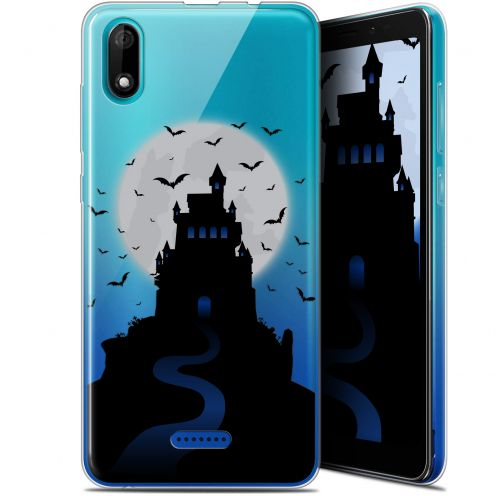 "Carcasa Gel Extra Fina Wiko Y60 (5.45"") Halloween Castle Nightmare"
