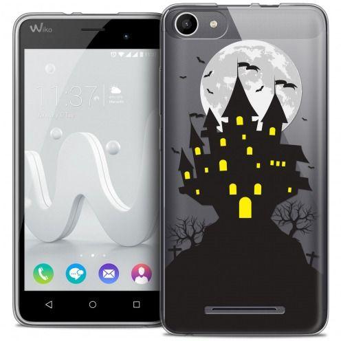 Carcasa Crystal Gel Extra Fina Wiko Jerry Halloween Castle Scream