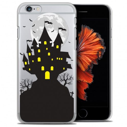 Carcasa Crystal Extra Fina iPhone 6/6s (4.7) Halloween Castle Scream