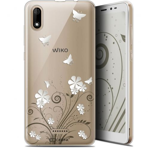 "Carcasa Gel Extra Fina Wiko Y60 (5.45"") Summer Papillons"