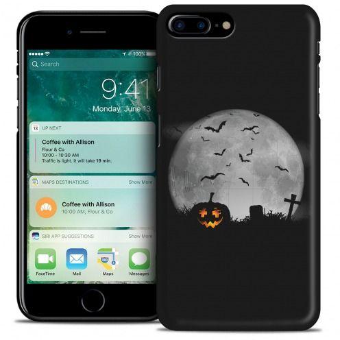Carcasa iPhone 7 Plus (5.5) Hallowen Extra Fina La Citrouille du Cimetière